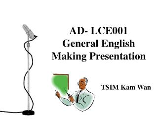 AD- LCE001 General English Making Presentation