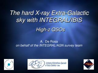 The hard X-ray Extra-Galactic sky with INTEGRAL/IBIS