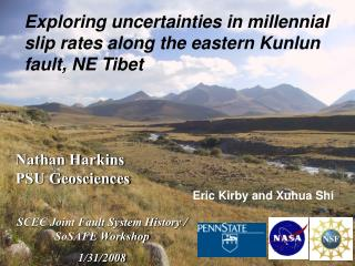 Exploring uncertainties in millennial slip rates along the eastern Kunlun fault, NE Tibet
