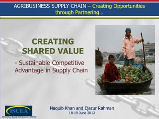 - Sustainable Competitive Advantage in Supply Chain