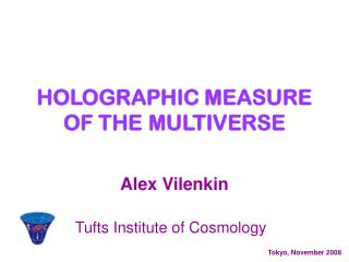 HOLOGRAPHIC MEASURE OF THE MULTIVERSE