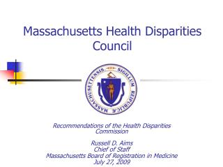 Massachusetts Health Disparities Council