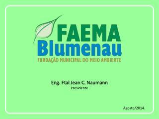 Eng.  Ftal  Jean C.  Naumann Presidente