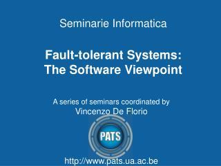 Seminarie Informatica