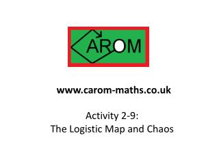 Activity 2-9:  The Logistic Map and Chaos