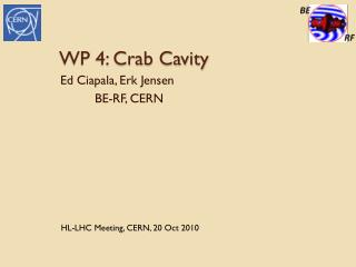WP 4: Crab Cavity
