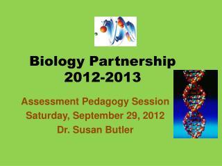 Biology Partnership 2012-2013