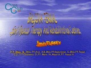 İzmir/TURKEY