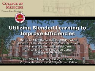 Utilizing  Blended Learning to Improve Efficiencies