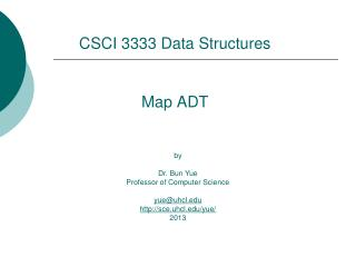 Map ADT