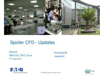 Spoiler CFD - Updates