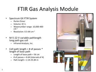 FTIR Gas Analysis Module