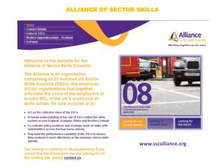 ALLIANCE OF SECTOR SKILLS