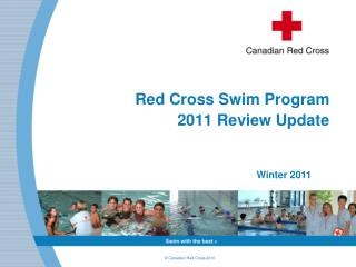 Red Cross Swim Program  2011 Review Update
