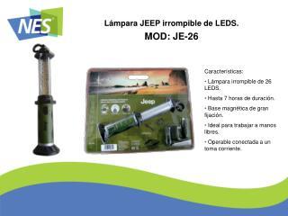 MOD: JE-26