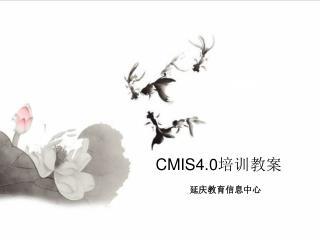 CMIS4.0 系统应用培训 第二阶段