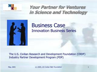 Business Case Innovation Business Series