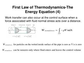 First Law of Thermodynamics-The Energy Equation (4)