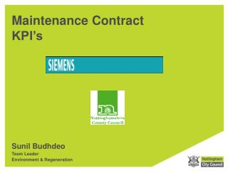 Maintenance Contract KPI's
