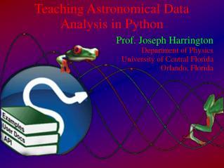 Teaching Astronomical Data Analysis in Python