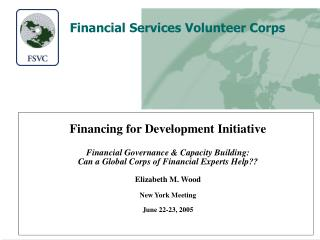 Financial Services Volunteer Corps