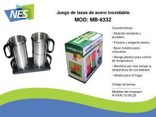MOD: MB-6332