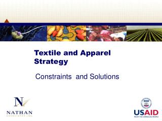 Textile and Apparel Strategy