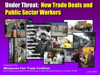 Under Threat: New Trade Deals and Public Sector Workers