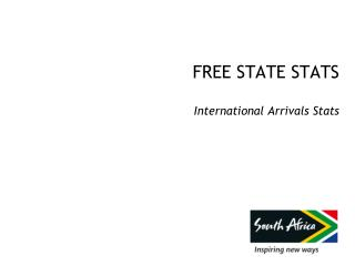 FREE STATE  STATS International Arrivals Stats