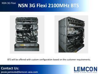 NSN 3G Flexi 2100MHz BTS