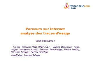 Parcours sur Internet  analyse des traces d'usage