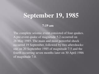 September 19, 1985