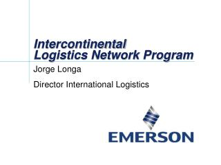 Intercontinental  Logistics Network Program