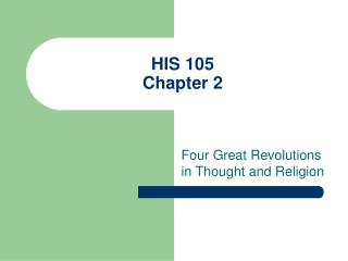 HIS 105 Chapter 2