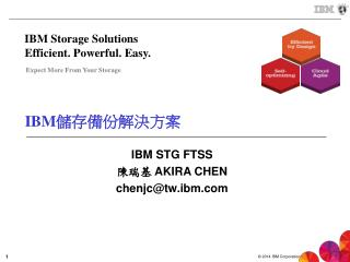 IBM 儲存 備份 解決方案