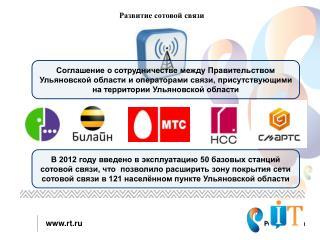Развитие сотовой связи
