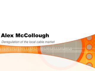 Alex McCollough