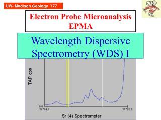 Electron Probe Microanalysis EPMA