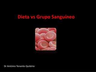 Dieta vs Grupo Sanguíneo