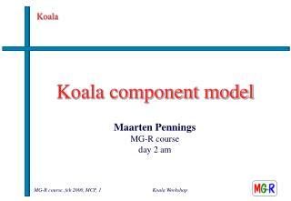 Koala component model