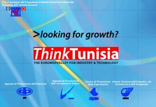 Con il sostegno del Programma di Modernizzazione Industriale, finanziato dall' Unione europea