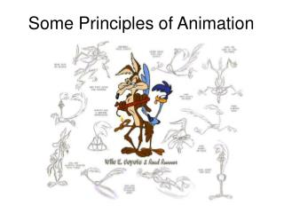 Some Principles of Animation