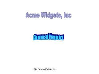 Acme Widgets, Inc
