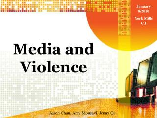 Media and Violence