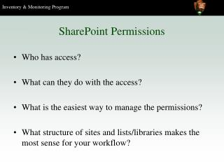 SharePoint Permissions