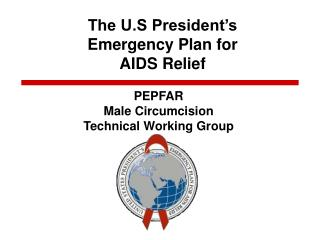 The U.S President's  Emergency Plan for  AIDS Relief