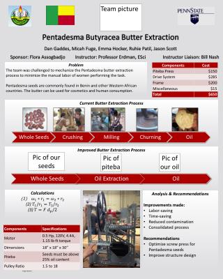 Improved Butter Extraction Process