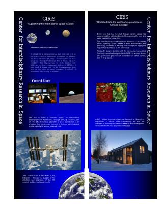 Center  for Interdisciplinary Research in Space