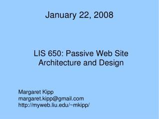January 22, 2008