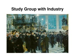 Study Group with Industry